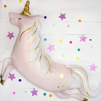 Magical Unicorn Foil Party Balloon