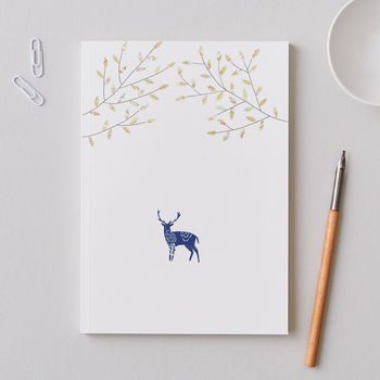 Large A5 Stag Notebook