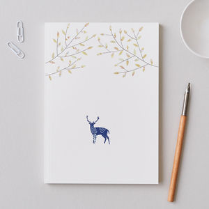 Large A5 Stag Notebook - whats new
