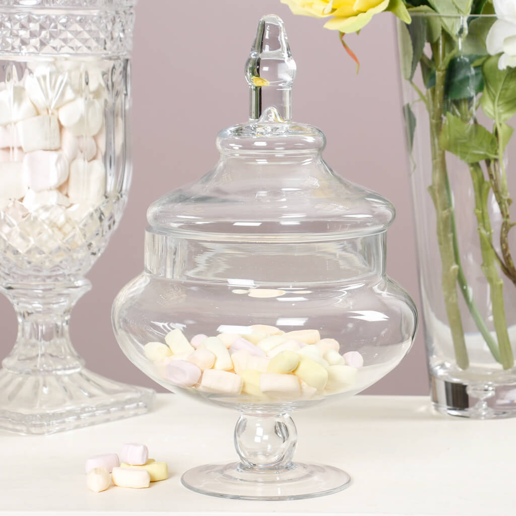 bonbon boutique cut glass crystal sweet jars by dibor rh notonthehighstreet com
