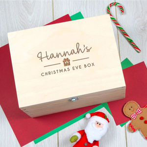 Personalised Christmas Eve Box For Teen Or Adult - christmas eve boxes