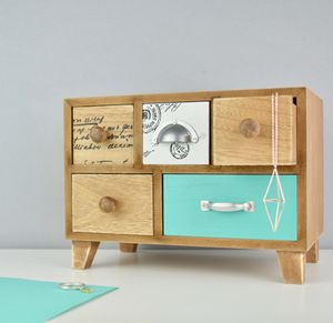 Bureau Jewellery Box - jewellery storage & trinket boxes