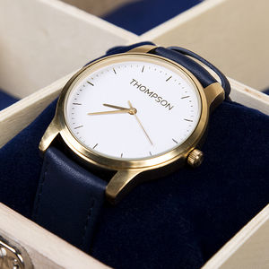 Surname Personalised Wrist Watch - men's accessories