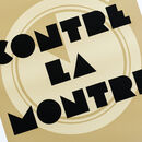 Art Deco Cycling Poster 'Contre La Montre'