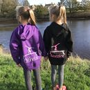 Girls Personalised Gymnastics Hoodie