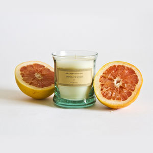 Grounding Grapefruit And Vetiver Scented Candle - the candle emporium