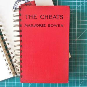 'The Cheats' Upcycled Notebook