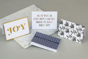 Mixed Christmas Card Set Six - what's new
