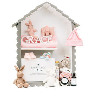 Create Your Own Handmade Baby Girl Gift Box - baby shower gifts & ideas