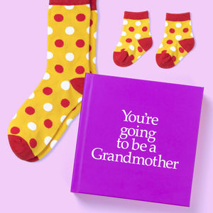 'You're Going To Be A Grandmother' Gift - gifts for grandparents