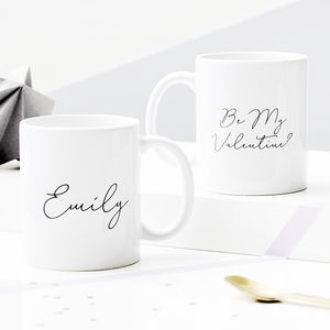 Personalised Hidden Message Mug - best valentine's gifts for her