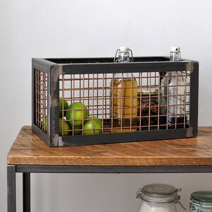 Industrial Wire Storage Basket