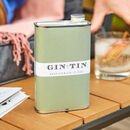 Personalised Tin Of Gin