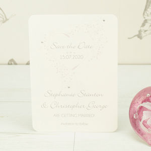 Personalised Ella Save The Date Card