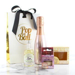 Shimmer, Bubbles, Prosecco And Liqueur Set
