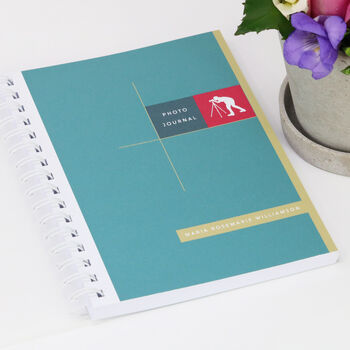 Personalised Photographer's Journal
