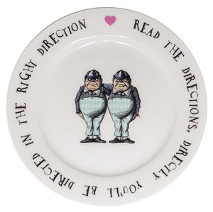 Tweedles Fine Bone China Tea Plate