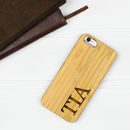 Personalised iPhone Six Wooden Case