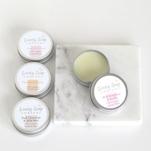 Organic Lip Balm - bath & shower