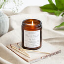 Personalised Engagement Apothecary Jar Candle