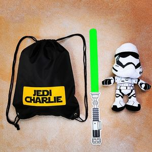 Personalised Boxed Jedi Bag - bags, purses & wallets