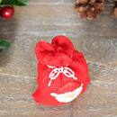 Christmas Novelty Red Santa's Sack Candle
