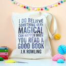 J.K Rowling Quote Tote Bag