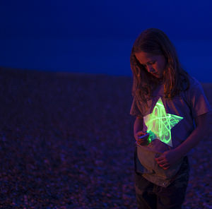 Star Glow In The Dark Interactive T Shirt