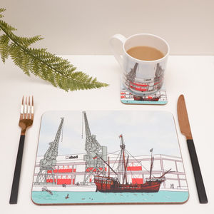 Bristol's The Matthew Ship Placemat