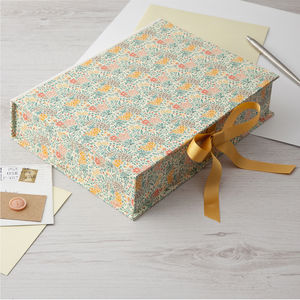 Keepsake Boxes Floral - desk accessories