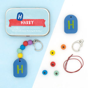 Personalised 'Back To School' Keyring Gift Kit