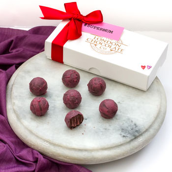 Mother's Day Red Wine Truffles