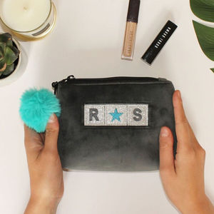 Personalised Small Makeup Bag