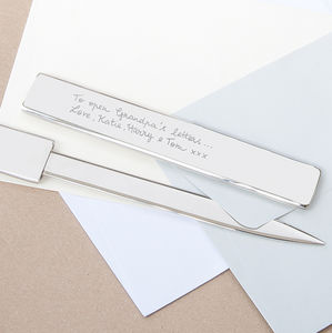 Personalised Letter Opener - desk accessories