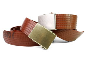 Reclaimed Fire Hose Slider Belt - belts