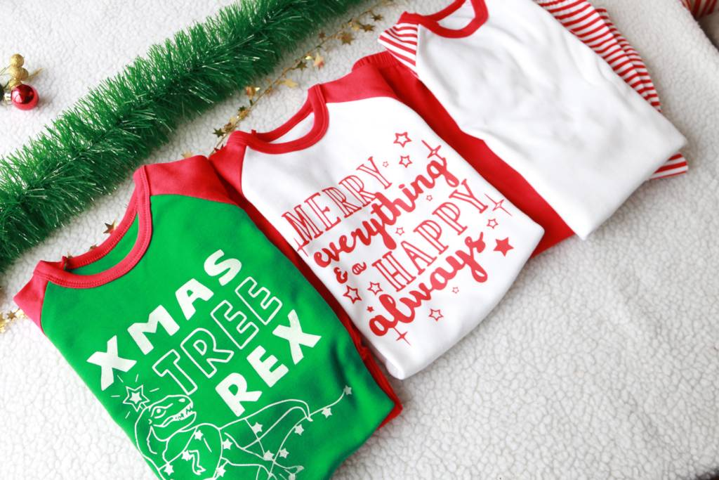 My First Christmas Ever Baby Pyjamas By Marloweville