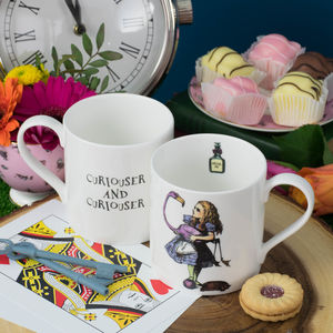 Alice In Wonderland Fine Bone China Mug