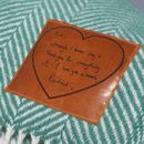 Throw Personalised With Your Handwritten Message