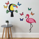 Tropical Wall Sticker Set