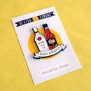 'Rum Chums' Friendship Enamel Pin Badge