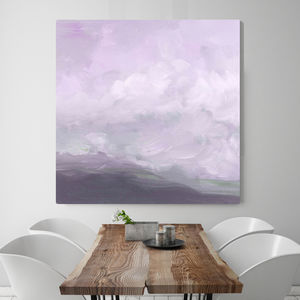Storm Upon Calais, Canvas Art - modern & abstract