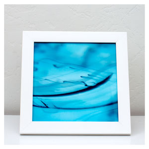 Blue Aqua Fine Art Photography Print - modern & abstract