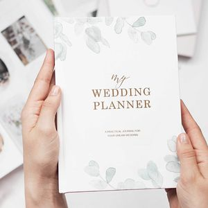 Wedding Planner Book Eucalyptus | Engagement Gift - planners & records
