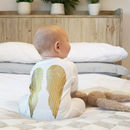 Angel Wings Baby Sleepsuit