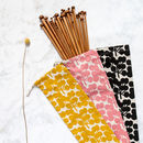 Full Set Of Bamboo Knitting Needles