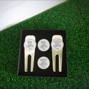 Personalised King And Queen Of The Green Golf Set