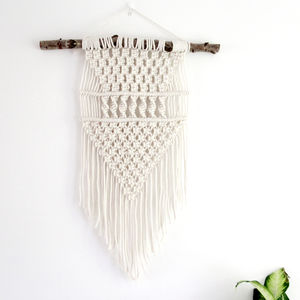 Tribal Macrame Wall Hanging