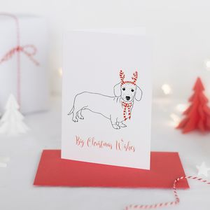 Christmas Card Mr Chips Party Pooch