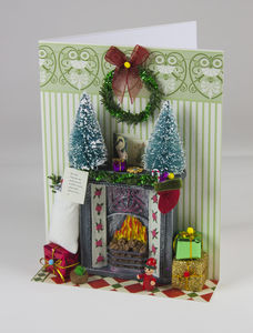 Christma Hearth Personalised Greeting Card