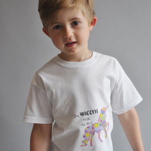 'The Unicorn Made Me Do It' Children's T Shirt